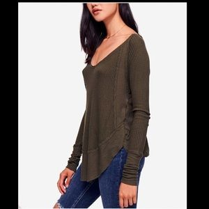 Free People Catalina Thermal Top S